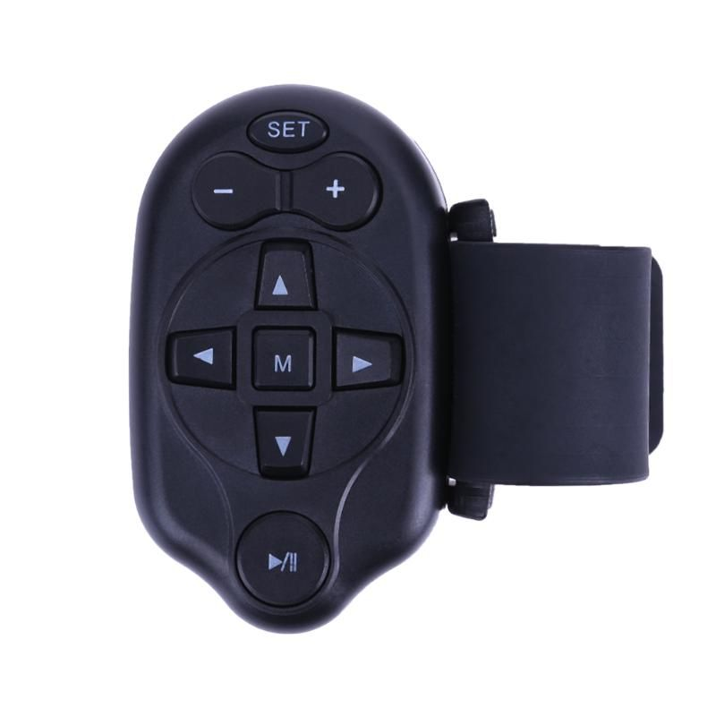 Universal Mini IR Car Steering Wheel CD DVD MP3 Remote Control VCD Music Player Wireless Electronic Control