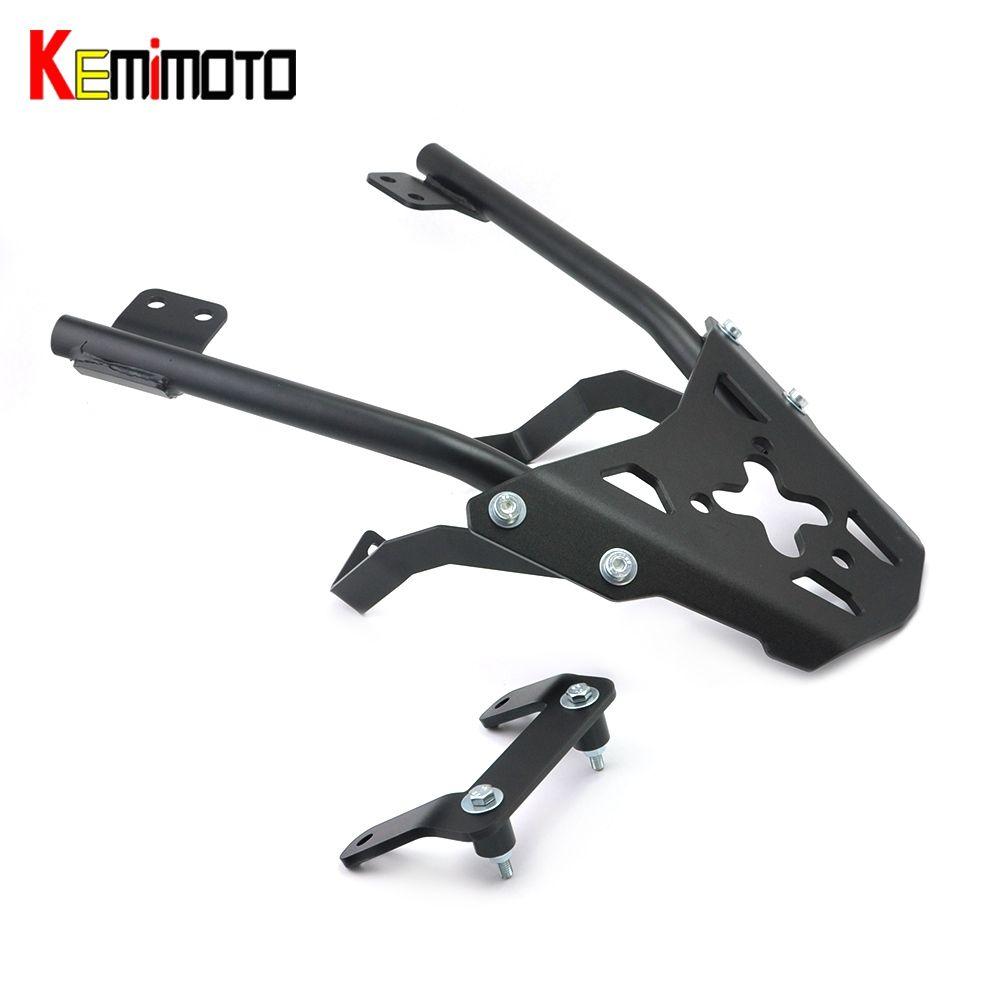 KEMiMOTO for KTM 390 125 200 Duck Rear Grab Bar Wide handle Grab Motorcycle Goods shelf Storage Rack Passanger Grab Bar