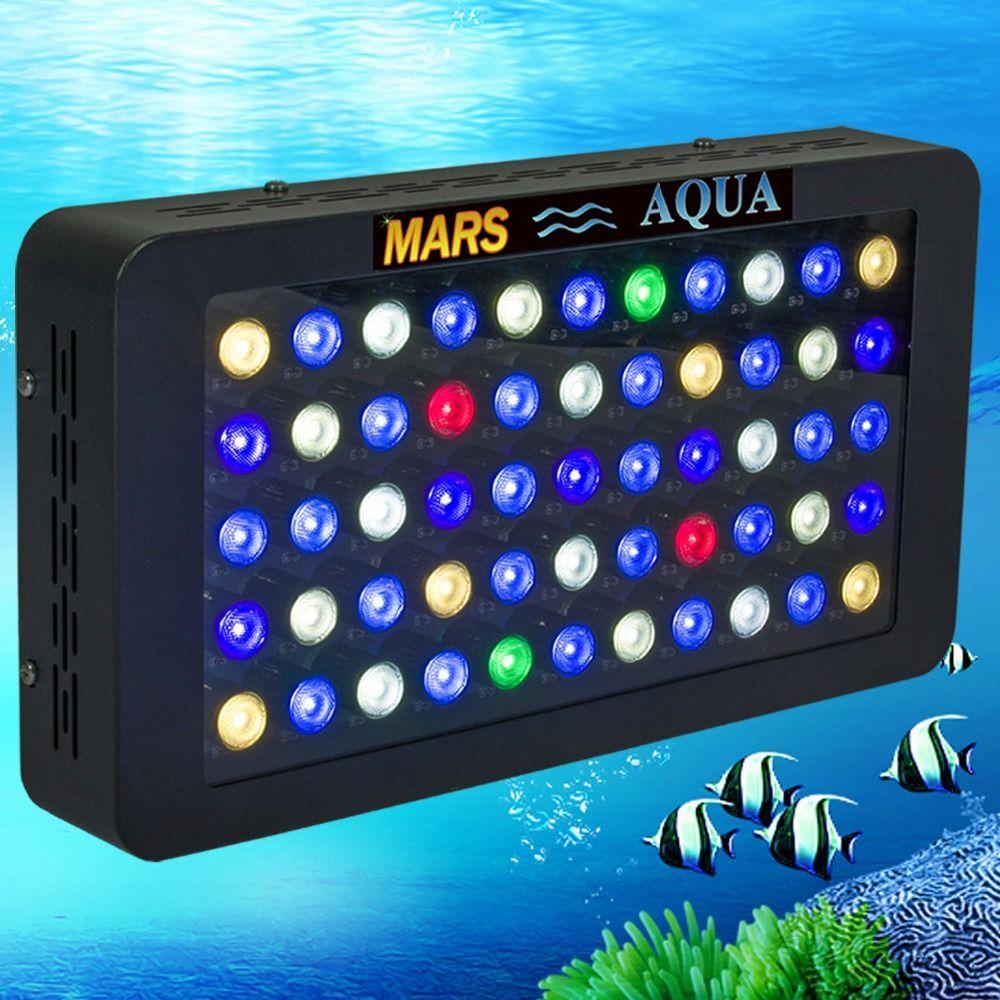 Mars Aqua Dimmbare 165 watt LED Aquarium Licht Riff Marine Aquarium led beleuchtung