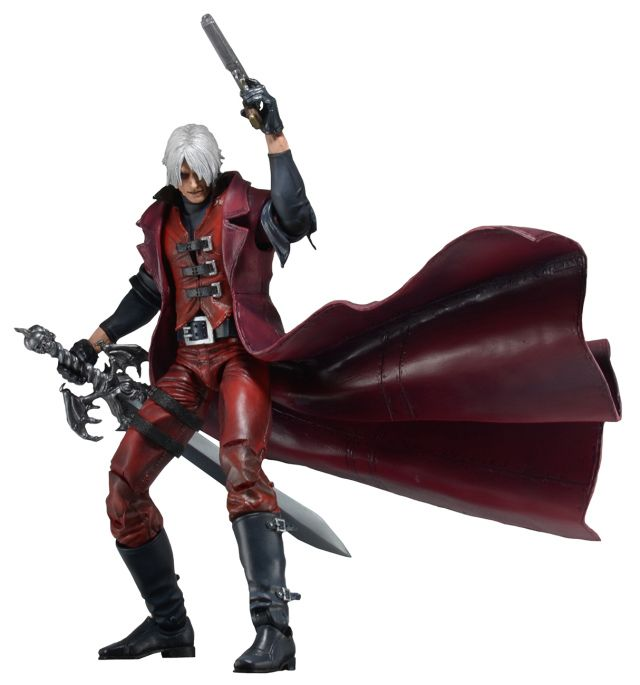 NECA Devil May Cry Dante Action Figure Collectible Model Toy 7