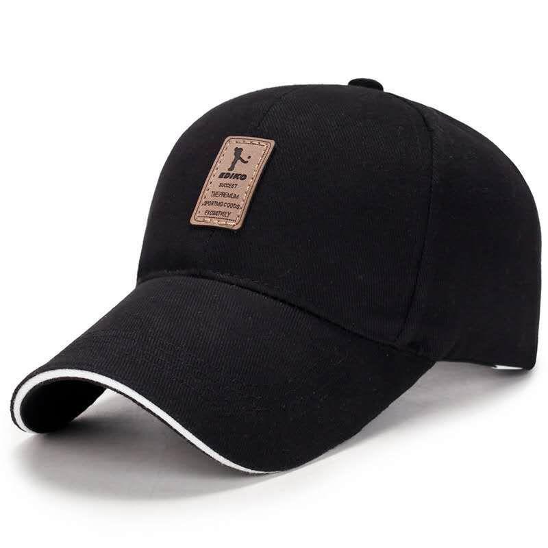 Hombres gorra de béisbol ajustable casual casquillo ocasional del SnapBack del color sólido verano otoño sombrero # no32