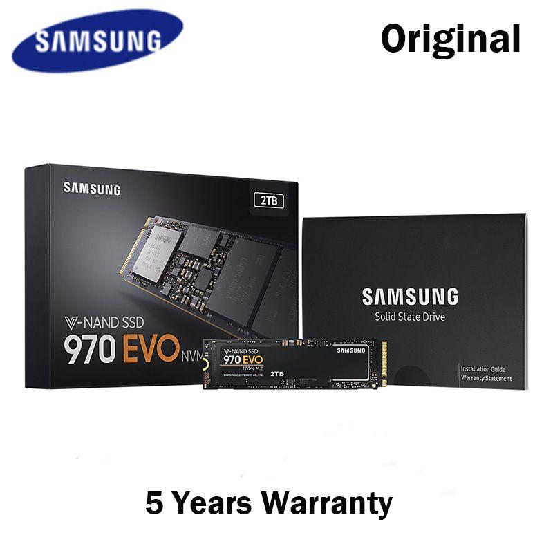 Samsung NVME M.2 SSD M2 250 gb 500 gb 1 tb 2 t M.2 970 evo Solid State Drives Festplatte für Laptops Dr evo SSD 500 gb 1 tb M. 2 PCIE SSD