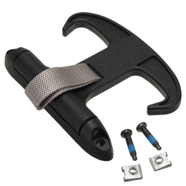 Hohe Qualität Schwarz Auto Trunk Tasche Edelstahl-haken-halter-aufhänger Für VW/Passat B6 CC/Jetta/MK5