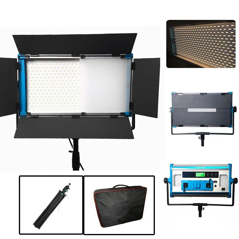 Neue APP & Fernbedienung RGB LED Lampe Fotografie Kontinuierlichen Weichen beleuchtung Set Foto Studio Video Film Licht + stativ + handtasche