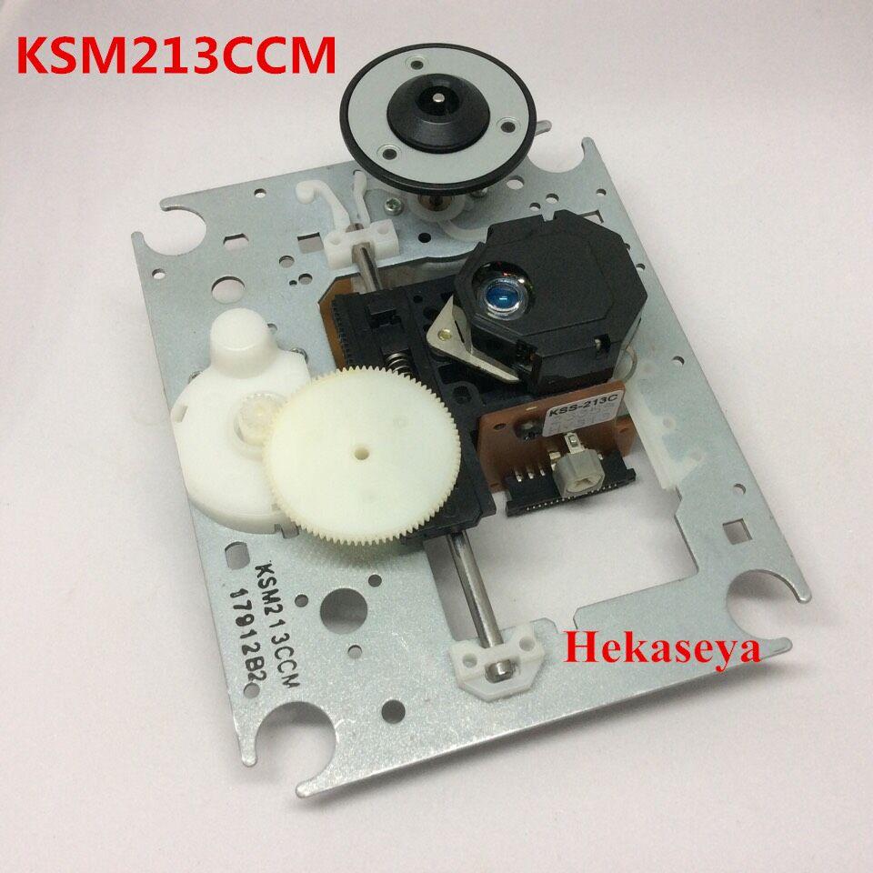 Tout nouveau KSM-213CCM KSM213CCM 213CCM bleu oeil mécansim KSS-213C Radio lecteur CD lentille Laser Optique Pick-up Bloc Optique