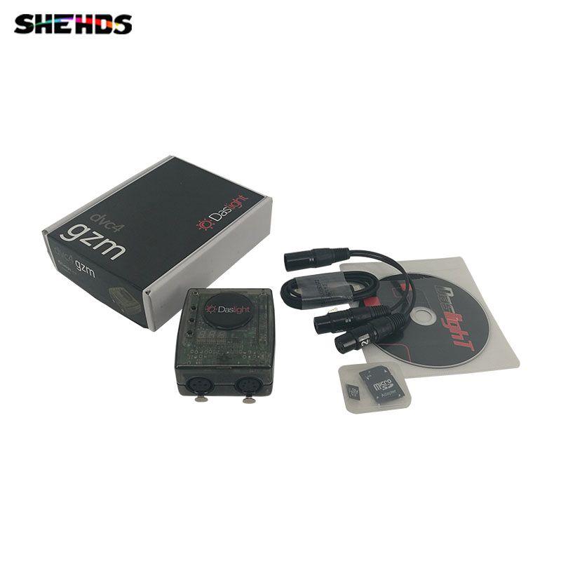 Controlling Software Daslight 4 DMX Controller Or DMX Control Software Controller Equipment For Disco Nightclub Stage Light