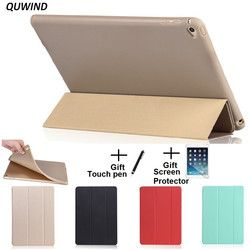 QUWIND Opaque Soft Material Sleep Wake Up Holder Protective Cover Case for iPad Mini 1 2 3 4 iPad 2 3 4