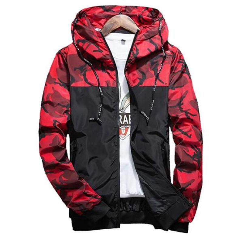 2018 Nouveau Mens Hoodies et Sweat Zipper Sweat À Capuche Mâle Vêtements De Mode Militaire À Capuche Pour Hommes Imprimé Hoodies 5XL