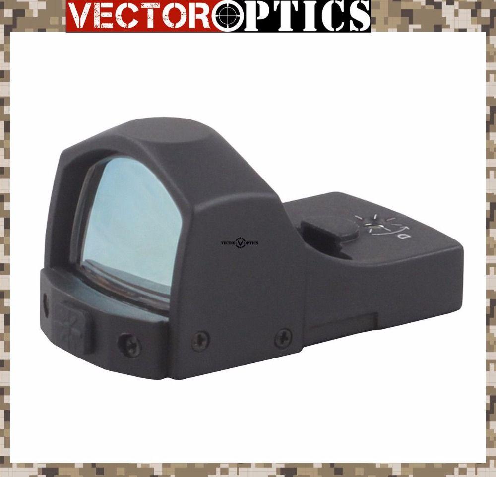 Vektoroptik Sphinx 1x22 Mini Micro Reflex Grüner Punkt-bereich/waffe Beleuchtet Dot Anblick/Fit für 12ga 223 Echt Feuer kaliber
