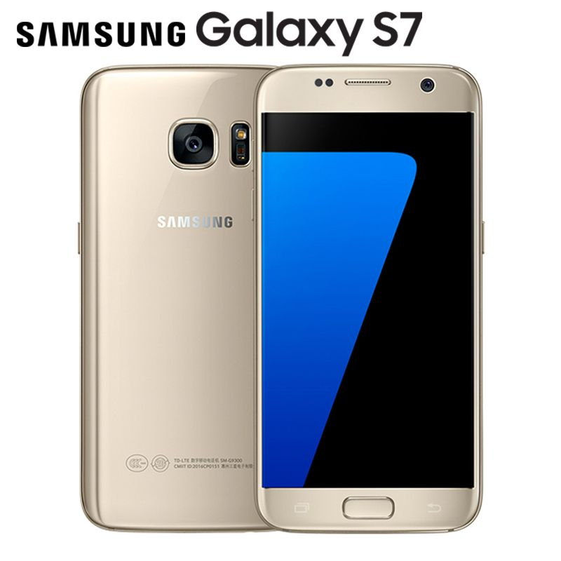 Original Unlocked Samsung Galaxy S7 LTE Android Mobile phone G930V G930F 5.1'' 12MP 4G RAM 32G ROM NFC Smartphone