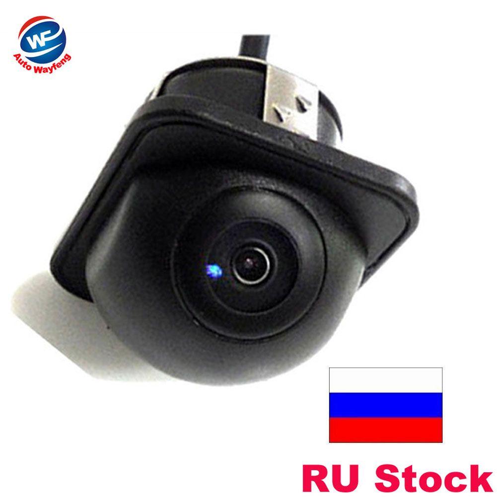 Pour 170 grand Angle Vision nocturne voiture rétroviseur caméra avant caméra de recul caméra de recul couleur caméra de recul