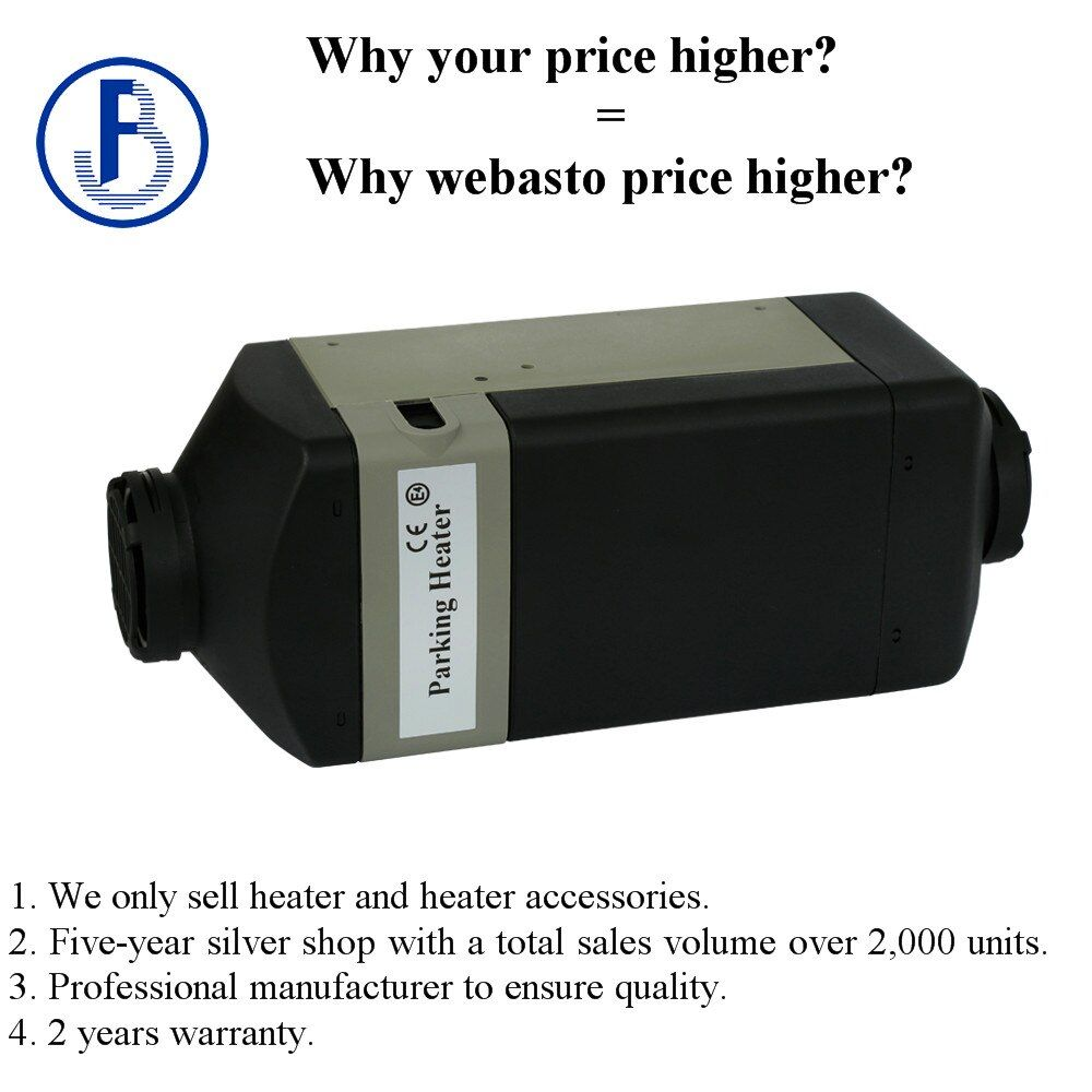 2KW 12V gasoline air parking heater for car truck bus etc similar to WEBASTO ( not webasto ) with CE certificate