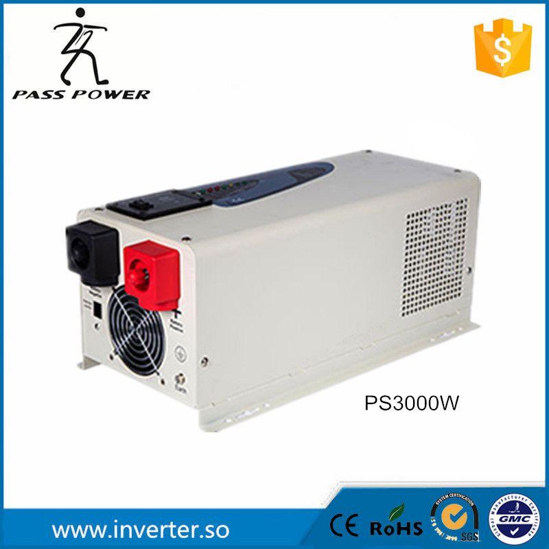 Конкурентная цена фабричная 3kw низкий frquency инвертор с зарядным устройством 3000 Вт инвертор