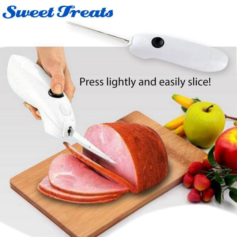 Sweettreats Battery Powered Knife Easy Cut Cordless Knife For Pork Stainless Blender For Kitchen Knife