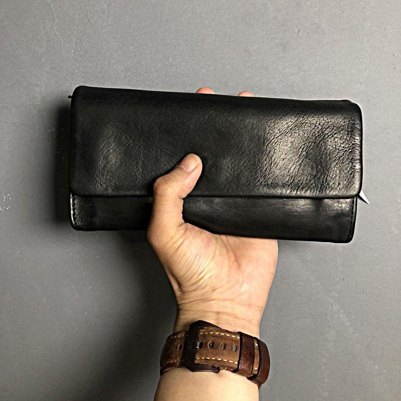 Herren Brieftasche Kuh Echtes Leder herren Geldbörse Geldbörse Fall Für Xiao mi mi A1 Herren Brieftaschen Luxus Männlichen Geldbörsen walet Billetera Hombre