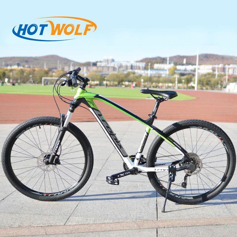 Qualité supérieure 27.5 pouces vélos En Acier 30 vitesse cadre En Aluminium VTT dérapage Pédale disque hydraulique freins vélo TROPIX