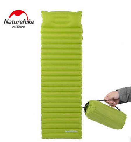 Naturehike Ultralight Outdoor Air Mattress Moistureproof Inflatable Air Mat With Camping Bed Tent Camping Mat Sleeping Pad