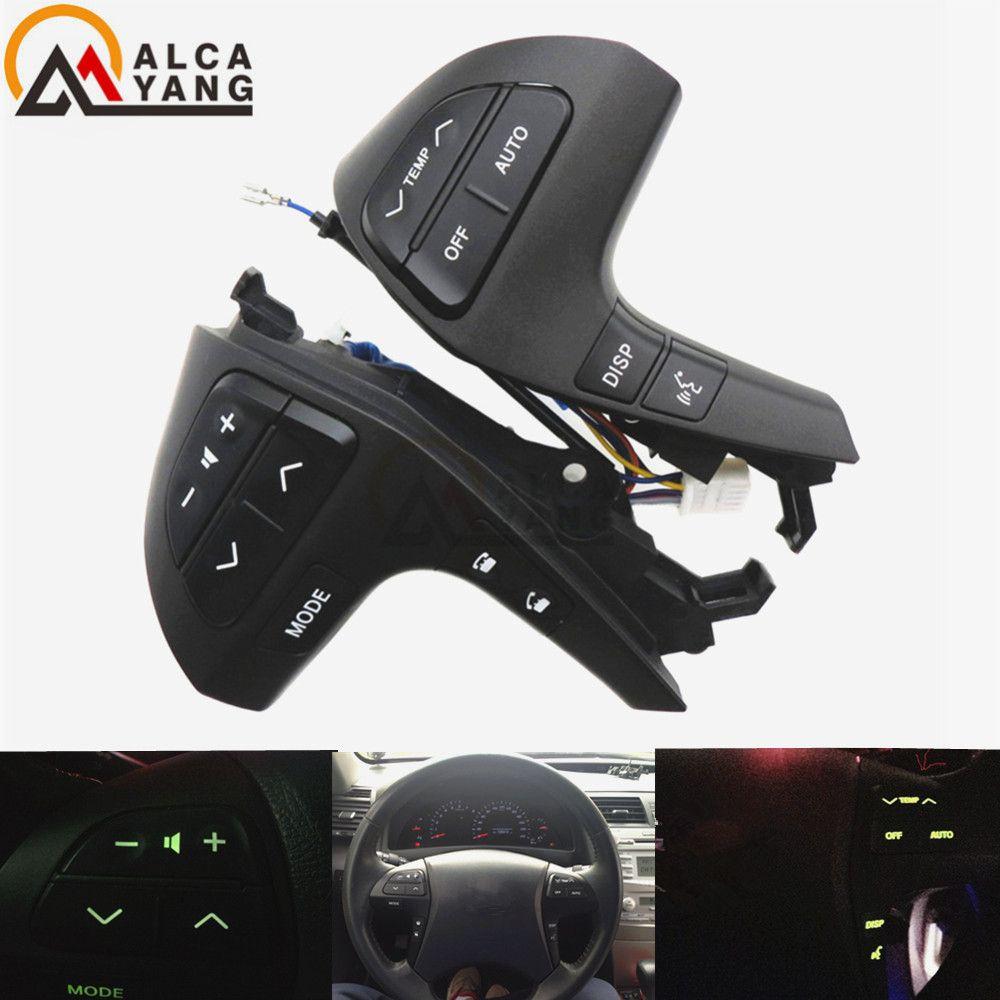 Пуговицы Bluetooth телефон для Toyota Highlander 84250-0E120 колесо аудио Управление Кнопка 84250-0e220 84250-0k020