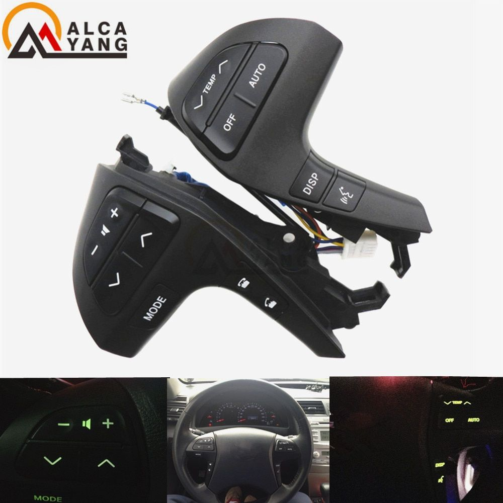 Buttons Bluetooth Phone For Toyota HIGHLANDER 84250-0E120 <font><b>Wheel</b></font> Audio Control Button 84250-0E220 84250-0K020