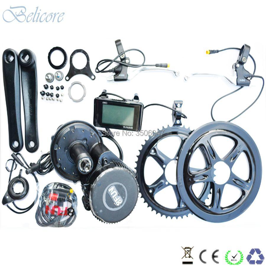 BB 100mm BB 120mm BB 68mm Bafang BBS01 36 V 250 Watt bafang mitte antriebsmotor kits mit C965 LCD