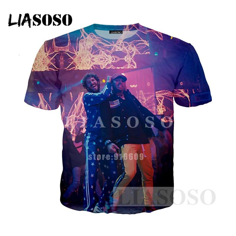 LIASOSO NEW Music Lil Dicky Freaky Friday feat Chris Brown Tees 3D Print T shirt/Hoodie/Sweatshirt Unisex Good Quality Tops G935