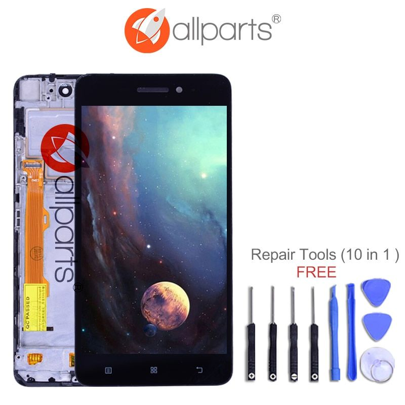Original 5.0'' IPS Display For Lenovo S60 LCD Touch Screen Digitizer S60W S60T S60A Replace Parts For Lenovo S60 Display