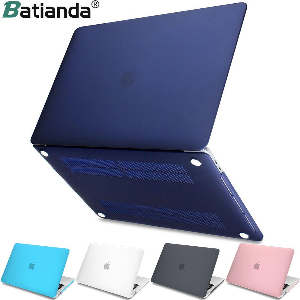 Nouveau Disque Cristal Mat Givré Cas de Couverture Manches pour MacBook Air 11 A1465/air 13 pouce A1466 pro 13.3 15 A1278 retina 13 A1502