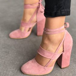 2018 New Women Pumps High Heel Summer Party Heels Solid Shoes Fashion Women Dancing Sexy Shoes Casual Pumps Ladies Heels DBT710