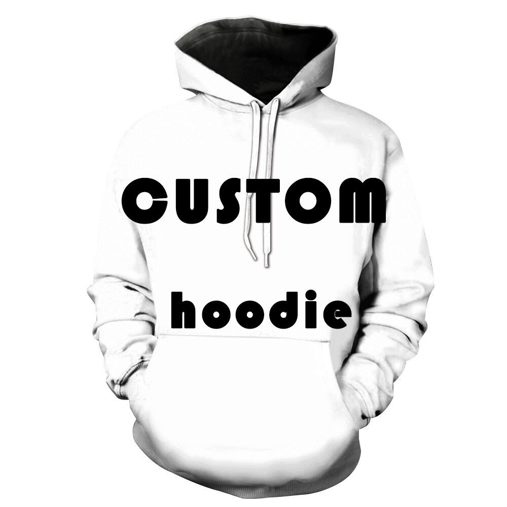 2018 Customize 3D All Printing Pullover Hoodies Hip Hop Hipster Jumper Sportwear Cool Fashion Men Women Unisex factory Outlet