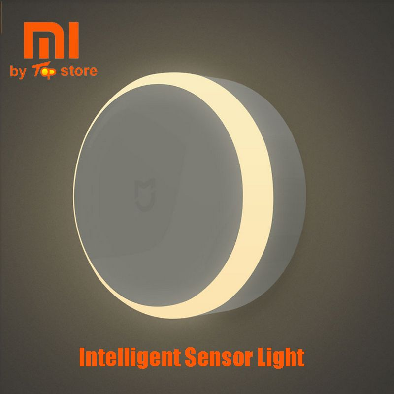Xiaomi Xiomi Mi Mijia Smart Sensor Night Light Lampe Intelligente Sans Fil Led Lampe de Lune de Mur Lampara Luminaria de Pared Banheiro