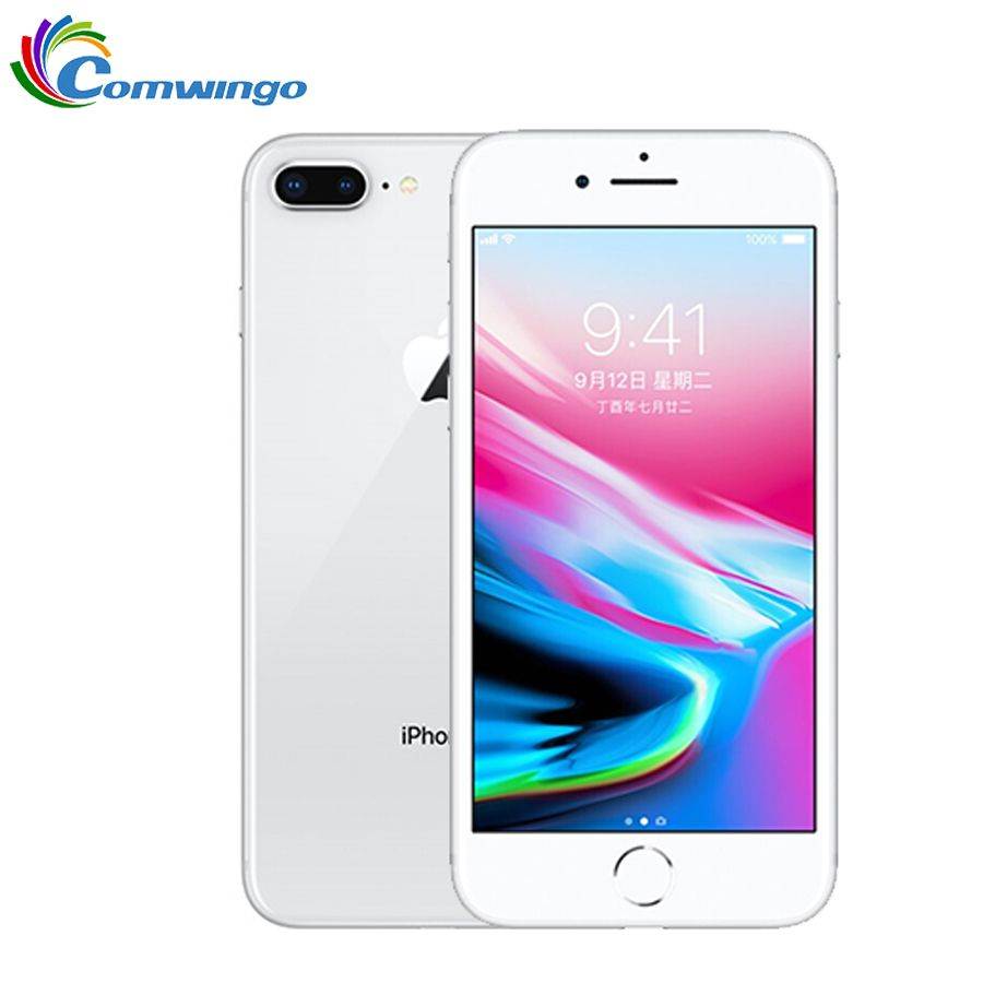 Original Apple iphone 8 Plus Hexa Core iOS 3 GB RAM 64 GB/256 GB ROM 2691 mAh 5,5 zoll 12MP fingerprint LTE Handy