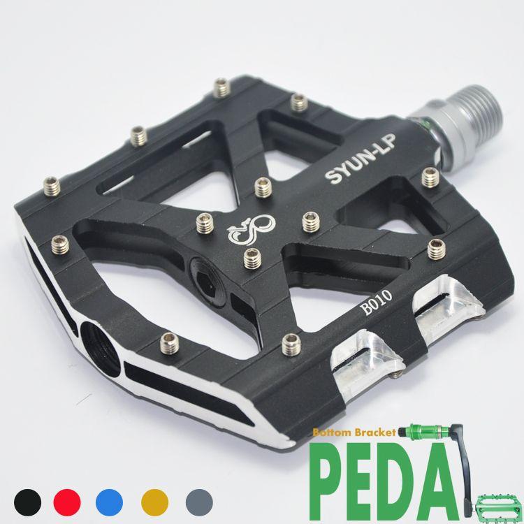 Original 100% SYUN-LP ultra-léger DH vtt BMX respirant alliage plate-forme vélo pédale