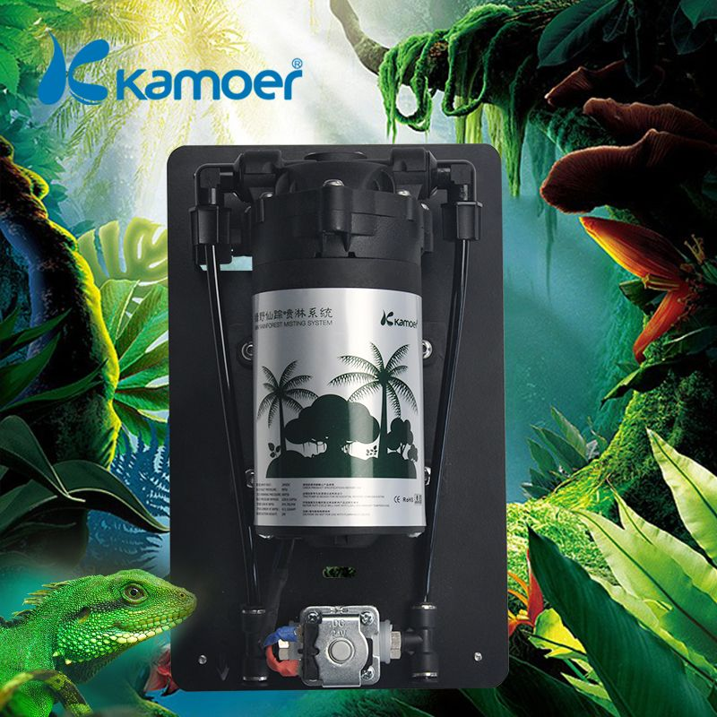 Kamoer new arrival min rainforest misting system for Reptile Aquaculture Ground Cooling, atomized landscaping