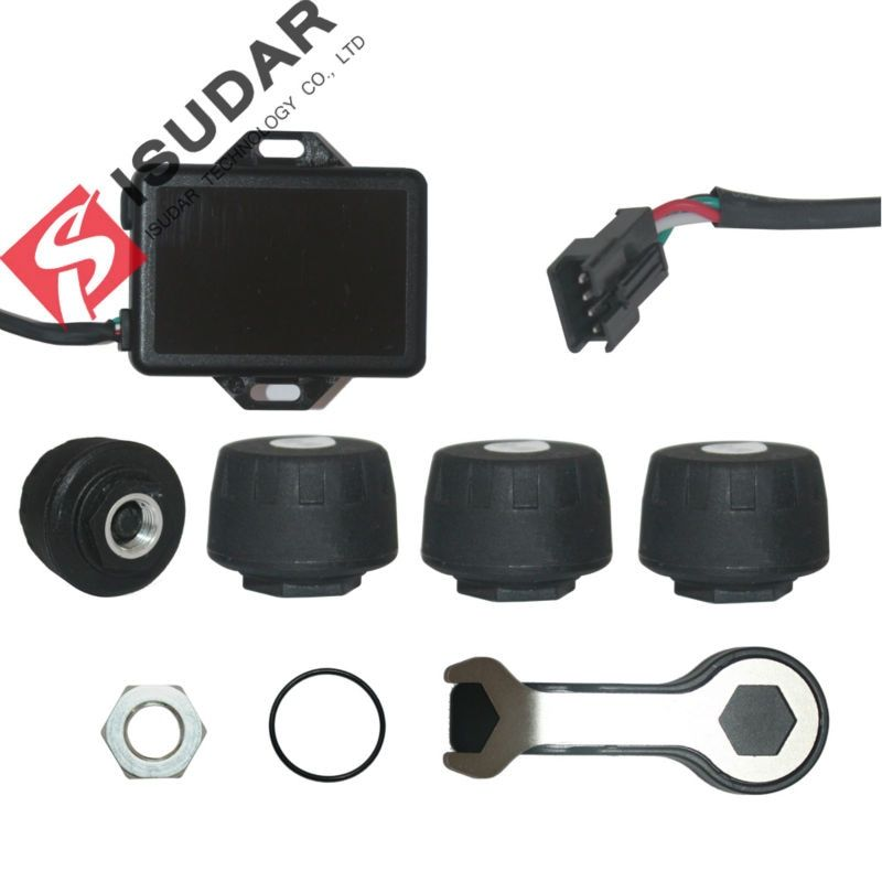 Tire Pressure Monitor Systems For ISUDAR Windows system Car DVD Player/TPMS