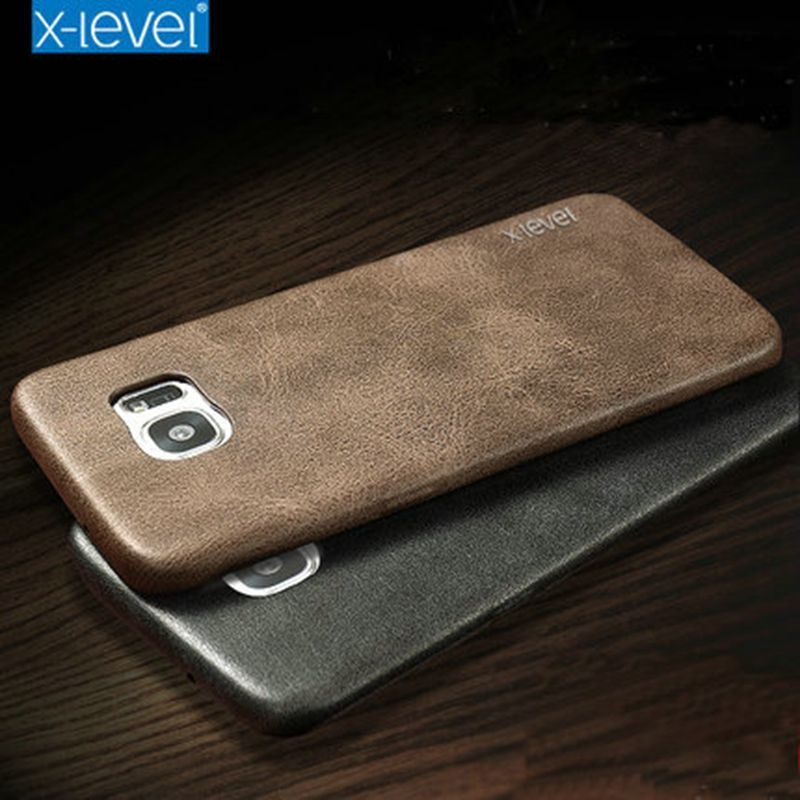 X-Level Brand New PU Leather Case For Samsung Galaxy S7 Edge Back Case Cover for Samsung S7edge G935 G935F Vingate Leather Case