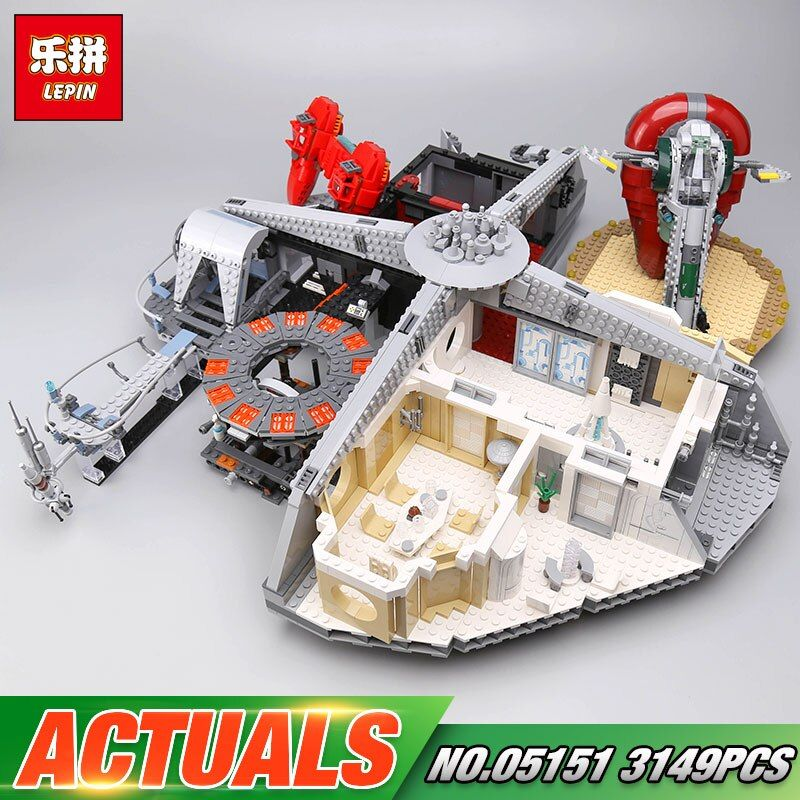 DHL Lepin 05151 Star Toys Wars The 75922 Cloud City Set Building Blocks Bricks Assembly Kids Toys Christmas Birthday Gifts Model