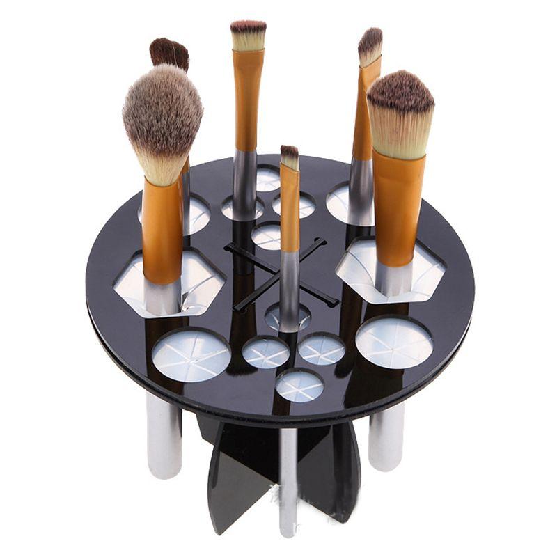 Fashion Elastic Glue Makeup Brush Support Frame Professional Makeup Artist Portable Make Up Holder Frame Cosmetic Brush Tool