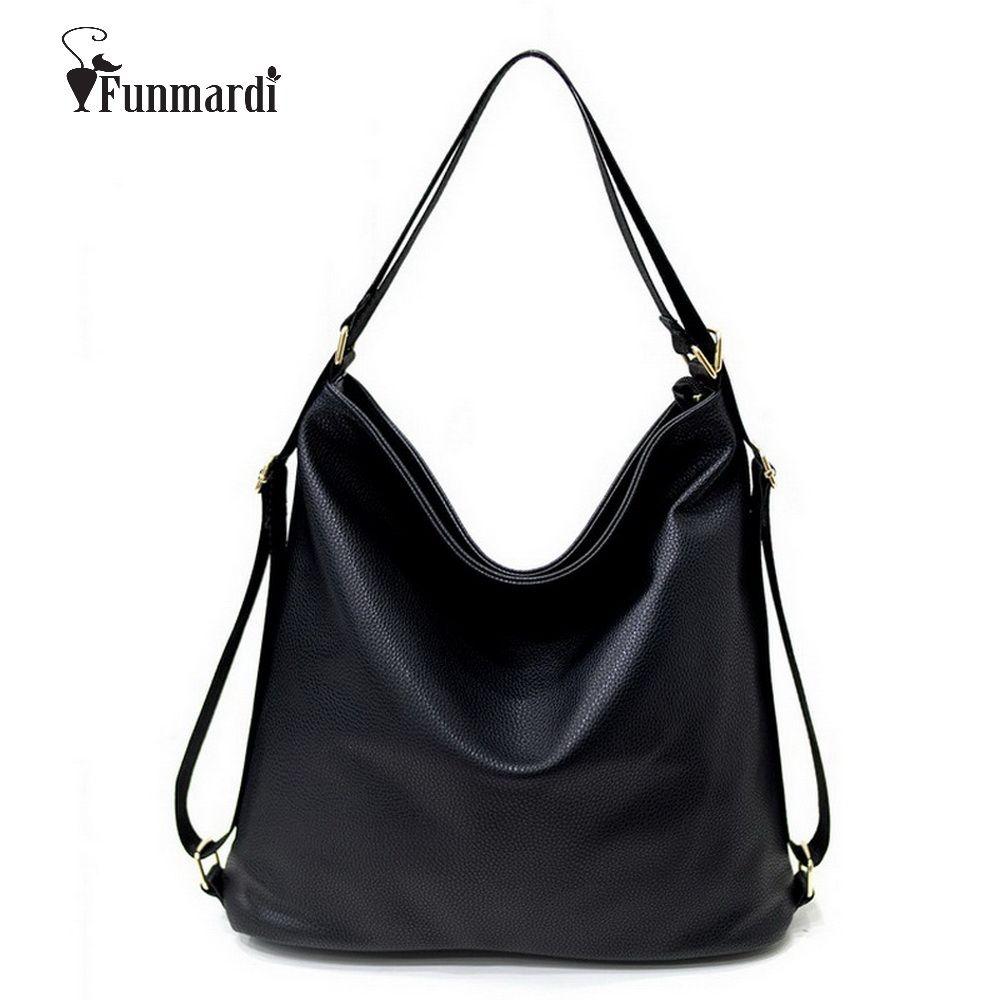 New arrival Multi <font><b>function</b></font> handbags Luxury Shoulder Bags Hobos Designer Bags For Women fashion Ladies PU Leather Bags WLHB1410