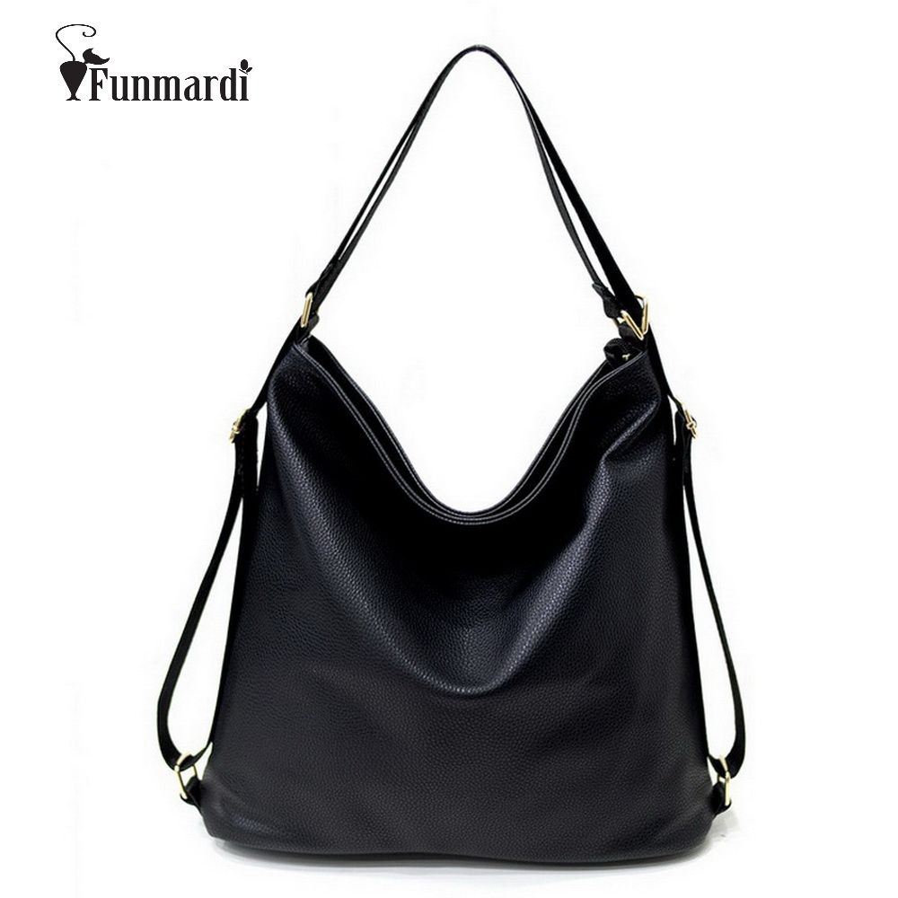 New arrival <font><b>Multi</b></font> function handbags Luxury Shoulder Bags Hobos Designer Bags For Women fashion Ladies PU Leather Bags WLHB1410