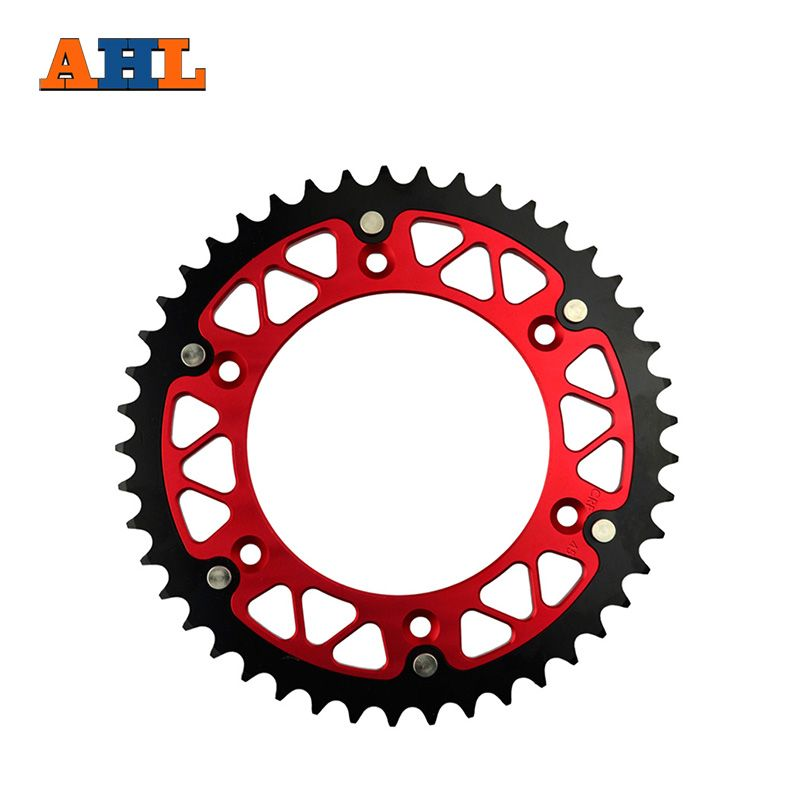 45 46 47 48 49 51 52 T Teeth Motorcycle Steel Aluminum Composite Rear Sprocket for HONDA CRF450R CRF450 R 2002-2015 520 chain