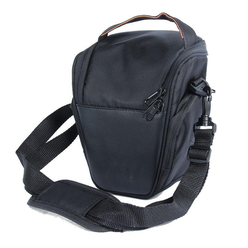 Étui étanche noir pour appareil photo en Nylon pour Sony pour Canon pour Nikon D5200 D5100 D5000 D3100 avec bandoulière 5035