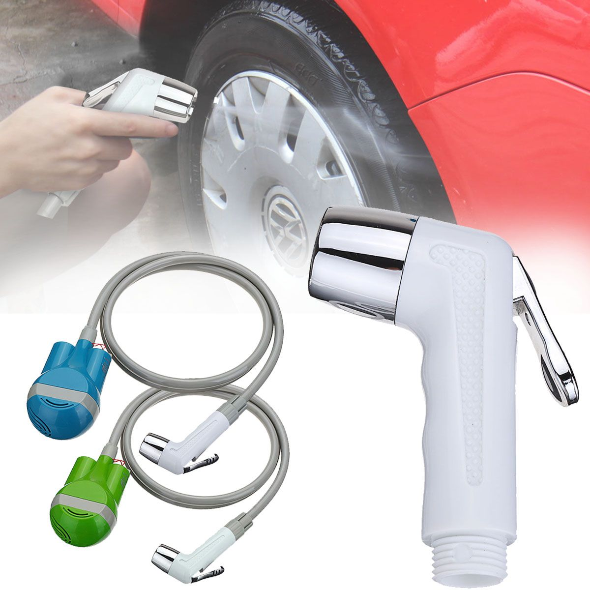 Outdoor Shower camping <font><b>Washer</b></font> Portable Car Baby USB Shower Water Pump Tank Rechargeable Nozzle Camper Travel Caravan Van <font><b>Washer</b></font>