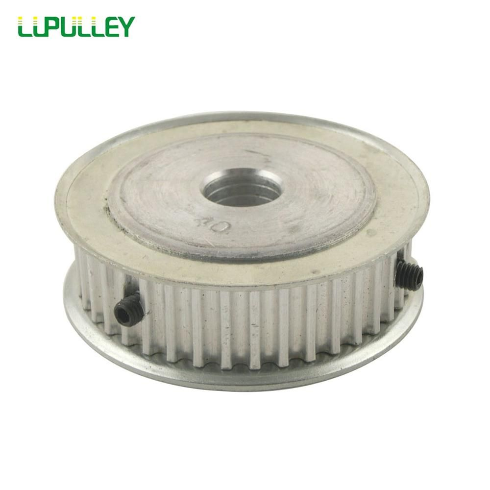 LUPULLEY 1PC HTD 5M 40T Timing Pulley 16mm Belt Width 6mm/6.35mm/8mm/10mm/12mm/12.7mm/14mm/15mm/16mm/17mm/20mm Bore Belt Pulley