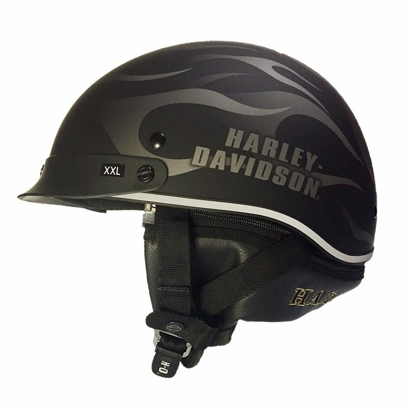(1pc&2colors) DOT Approval Brand New Harley Motorcycle Helmet Spoiler Hybrid Vintage Motorcycle Helmets Casco Casque HL201