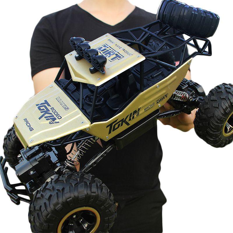 28 cm RC Voiture 1/16 4WD Rock Robots 4x4 Conduite De Voiture Double Moteurs D'entraînement Bigfoot Voiture Télécommande modèle de voiture Hors Route Véhicule Jouet