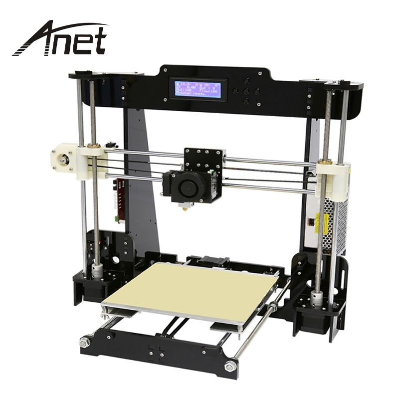 Anet A8 A6 3D Printer High Precision Reprap Pruse i3 DIY Hotbed Filament SD Card 12864 LCD  Auto Level