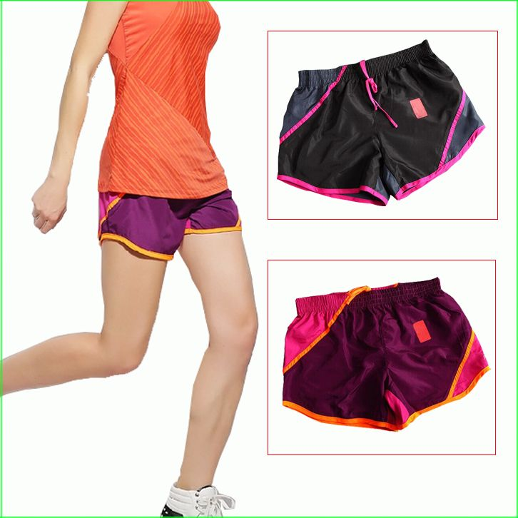 RS03 Hot Sports Women Polyester Quick Drying Running Shorts Summer Beach Short