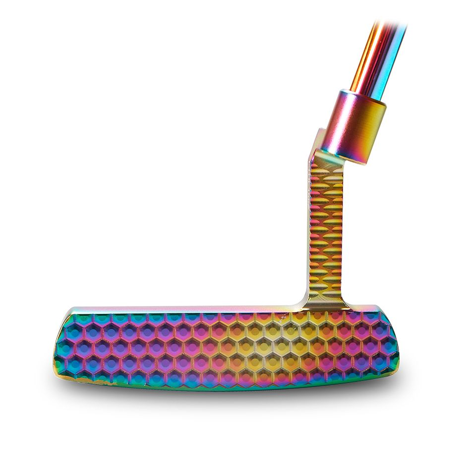 Golf clubs colour putter 33.34.35steel shaft Material