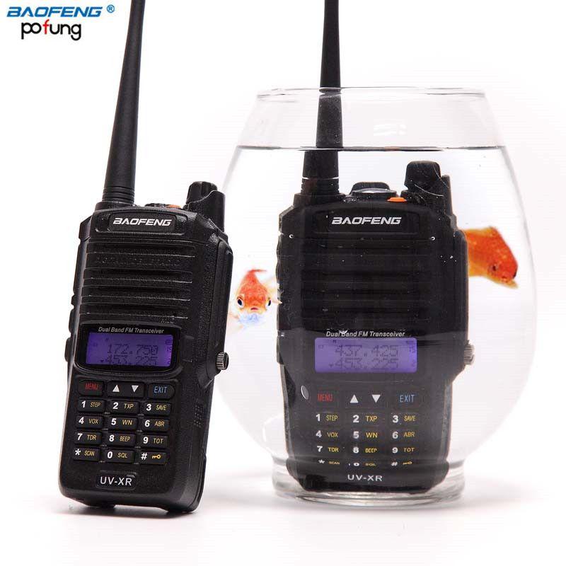VENTA! Baofeng UV XR 10 W de Alta Potencia 4800 Mah Batería IP67 A Prueba de agua CB Radio de Dos Vías de Doble Banda de 10 KM de Largo Alcance Walkie Talkie
