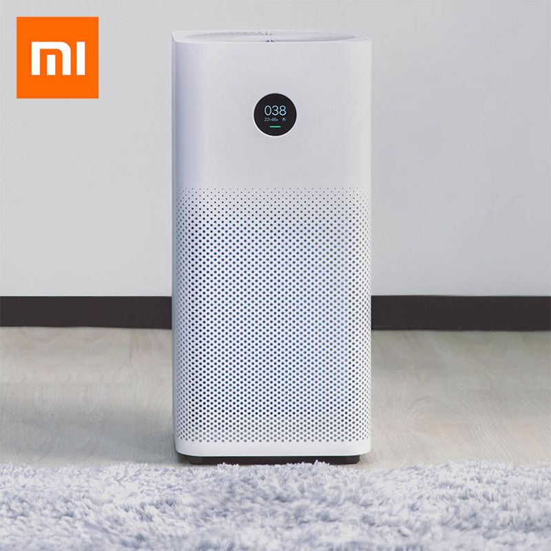 Original Xiaomi Air Purifier 2S Triple-Layered Hepa Filter Air Purifiers For Home Control Low Noise Mijia Smart Purifier Cleaner